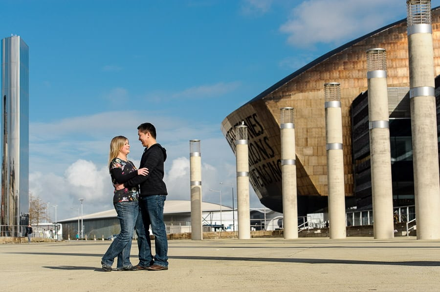 Engagement Photography in Cardiff Bay 12