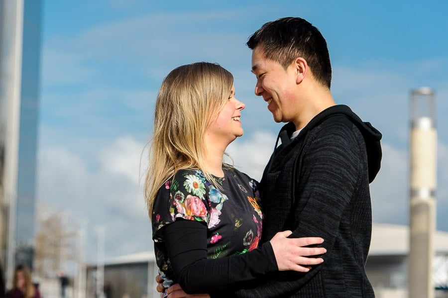 Engagement Photography in Cardiff Bay 13