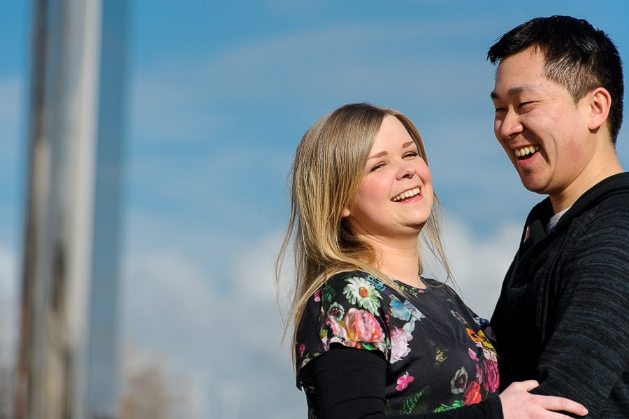 Engagement Photography in Cardiff Bay 15