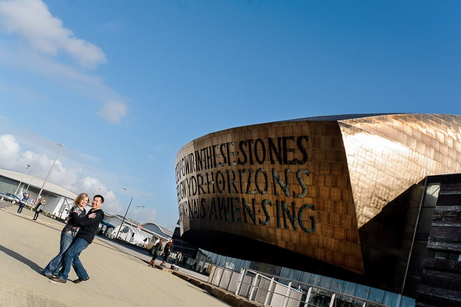Engagement Photography in Cardiff Bay 16