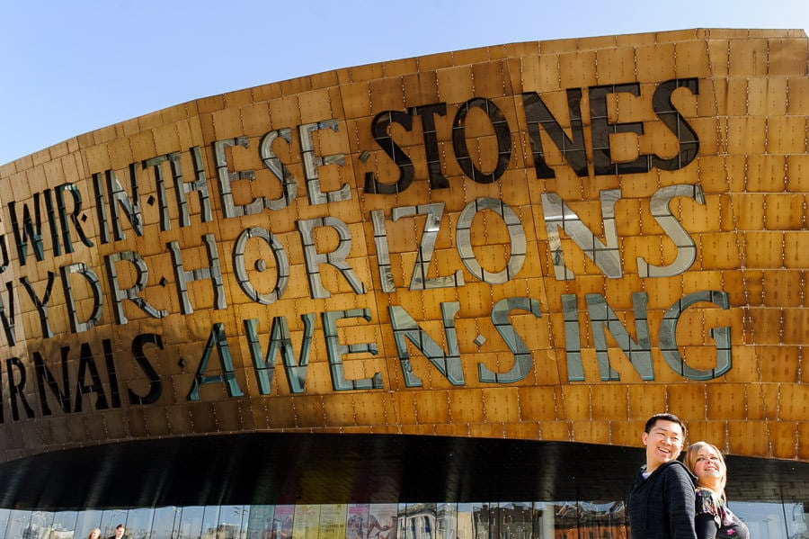 Engagement Photography in Cardiff Bay 17