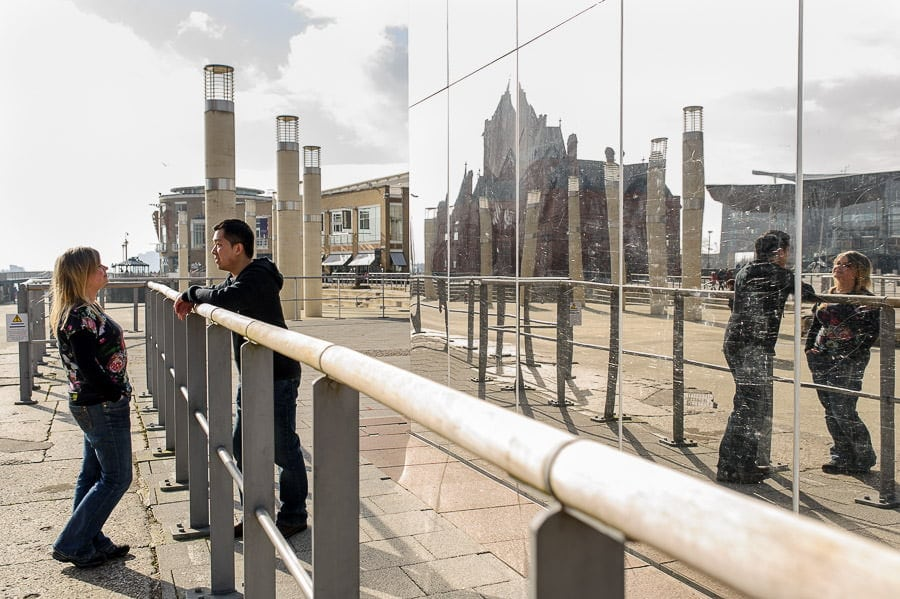 Engagement Photography in Cardiff Bay 18