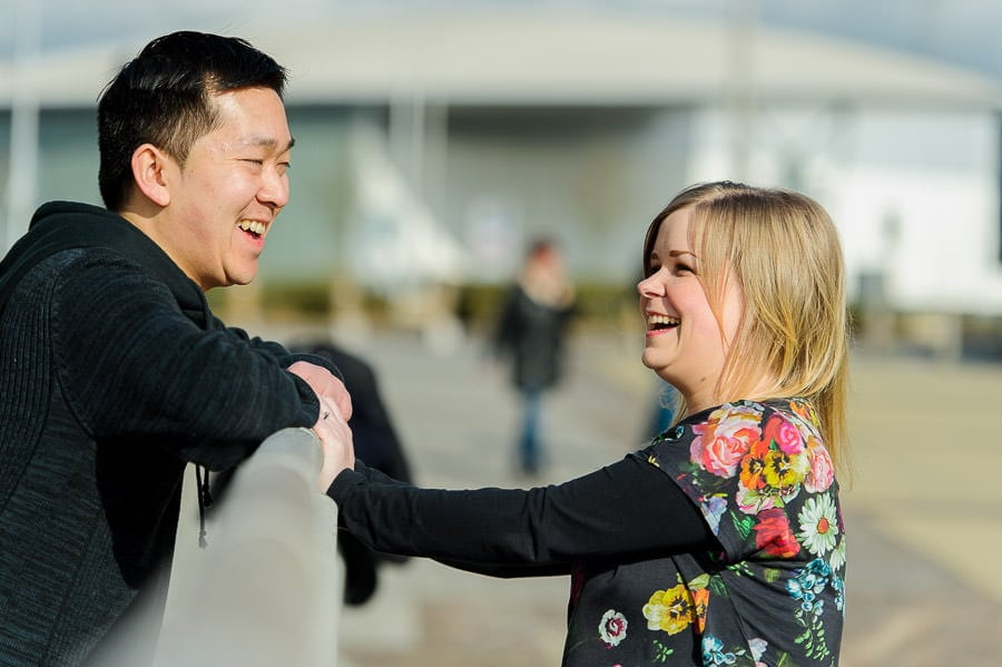 Engagement Photography in Cardiff Bay 19