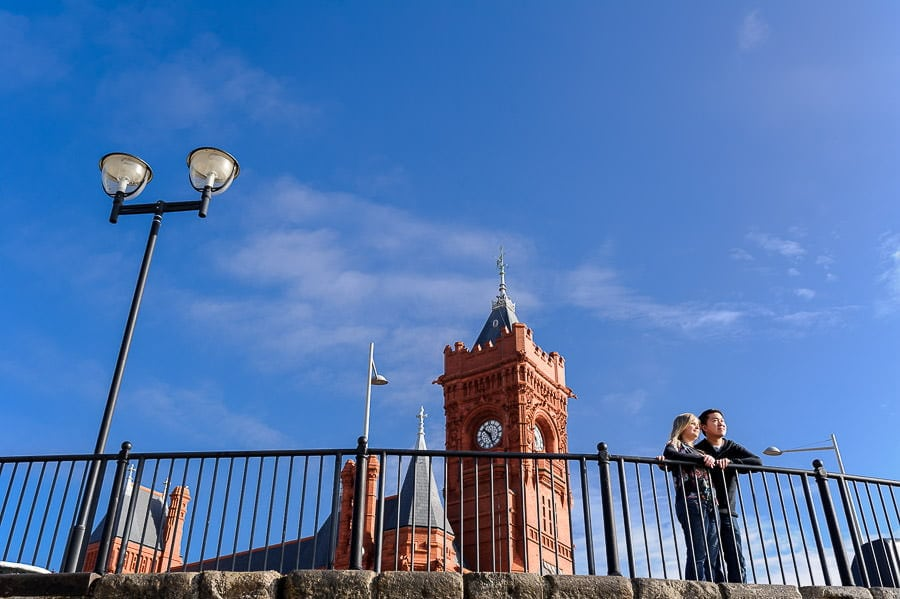 Engagement Photography in Cardiff Bay 2