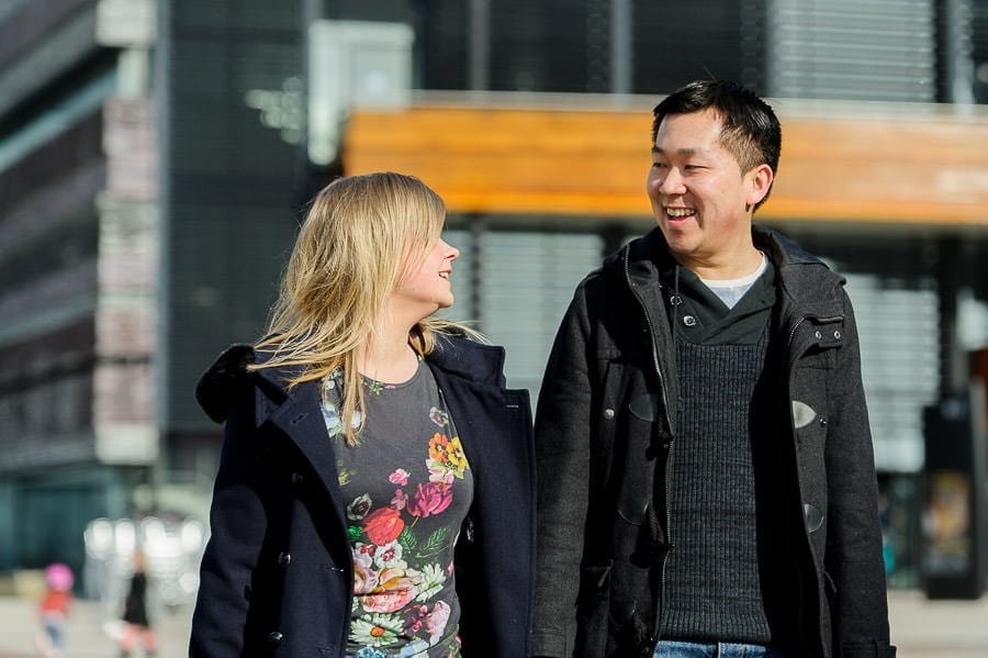 Engagement Photography in Cardiff Bay 22
