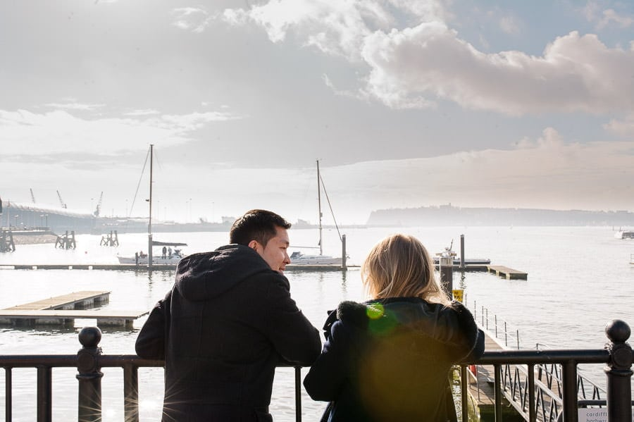 Engagement Photography in Cardiff Bay 23