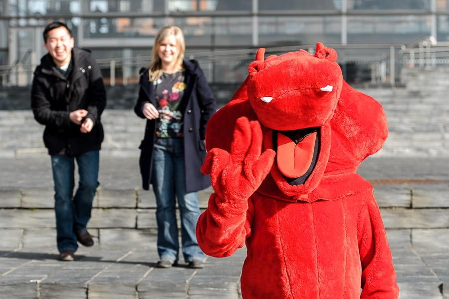Engagement Photography in Cardiff Bay 29