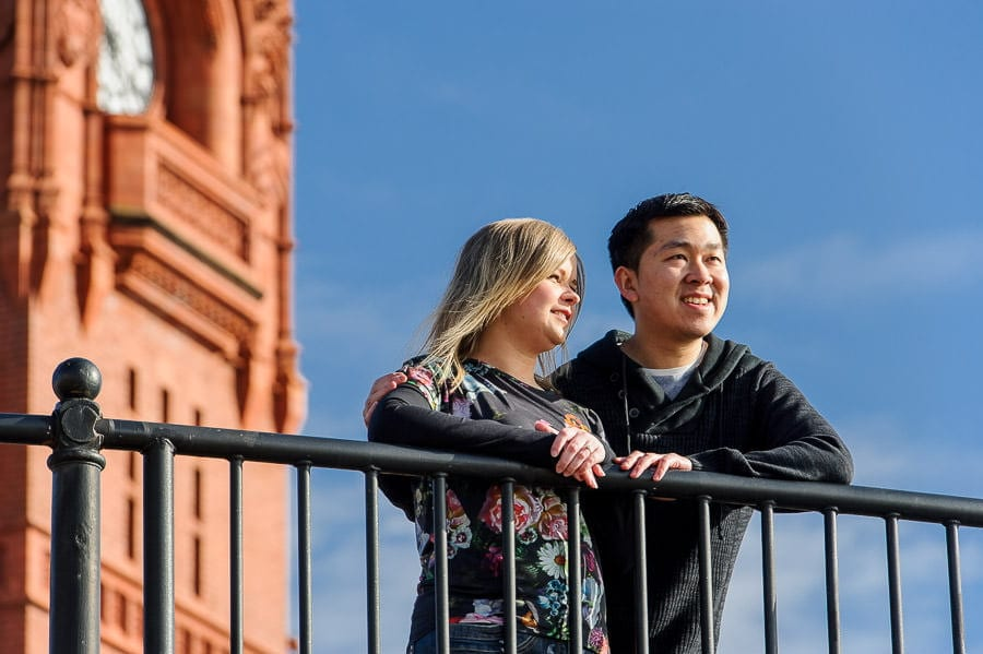 Engagement Photography in Cardiff Bay 3