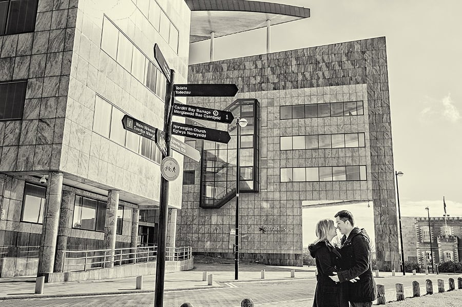 Engagement Photography in Cardiff Bay 31