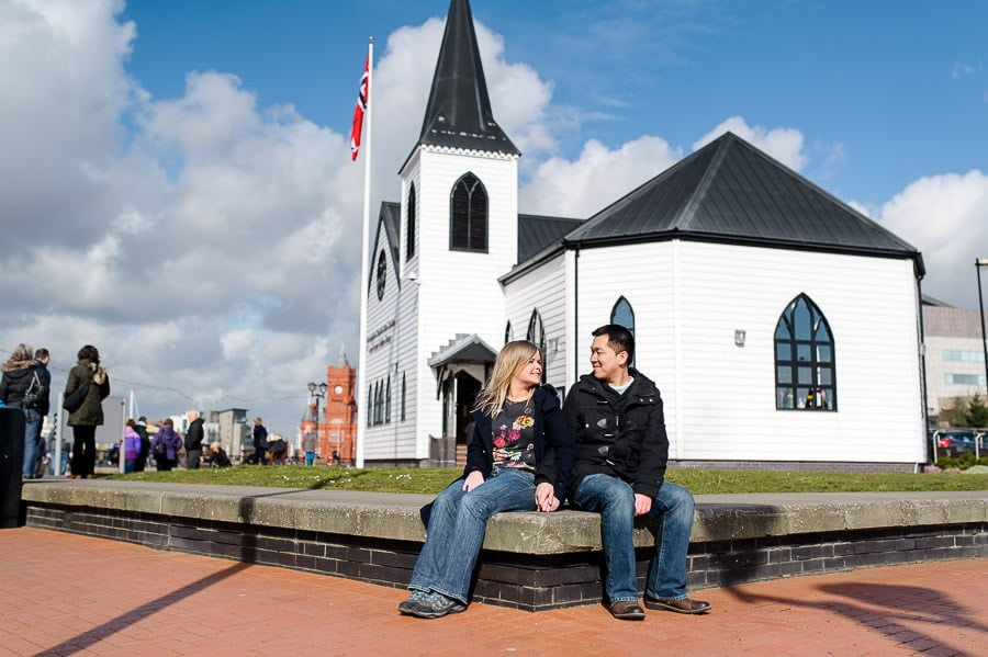 Engagement Photography in Cardiff Bay 36