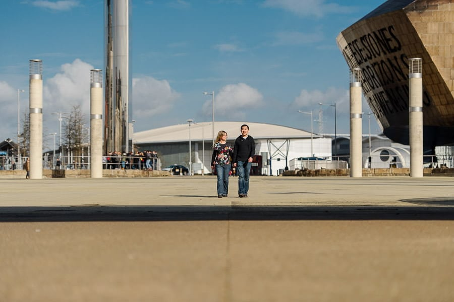 Engagement Photography in Cardiff Bay 6