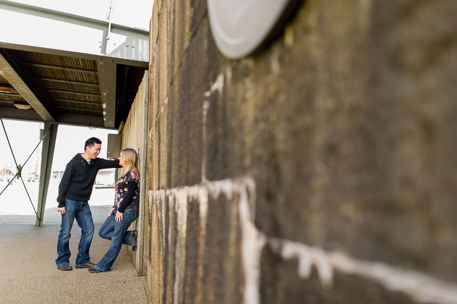 Engagement Photography in Cardiff Bay 8