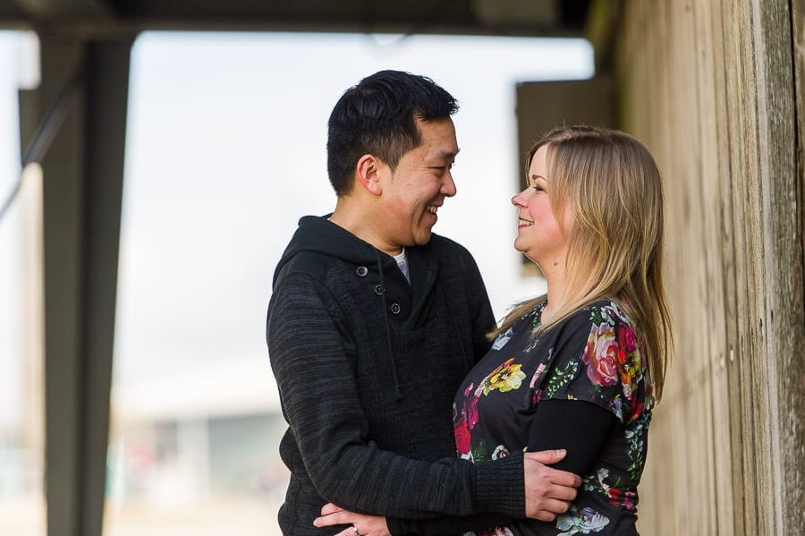 Engagement Photography in Cardiff Bay 9