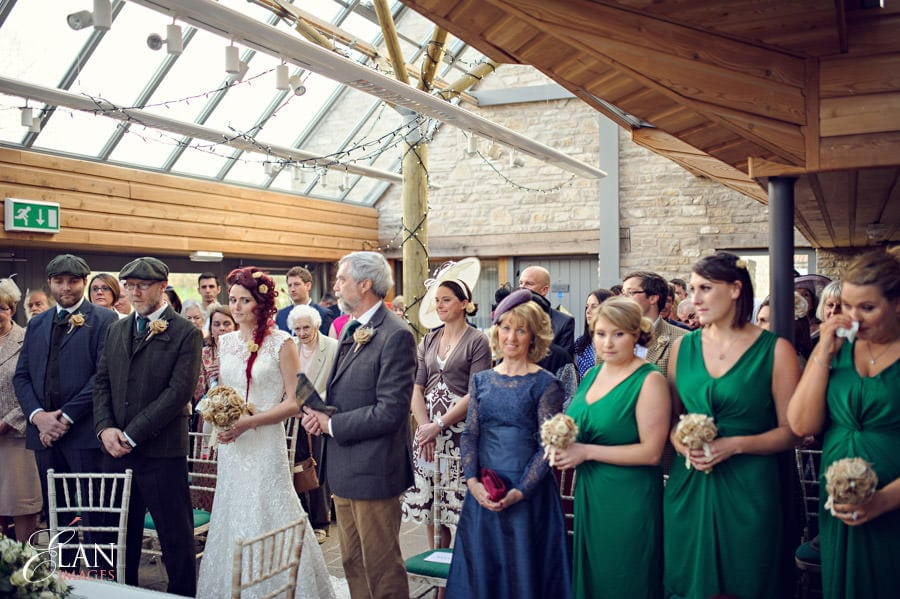 Vintage wedding at the Folly Farm Centre, Pensford 114