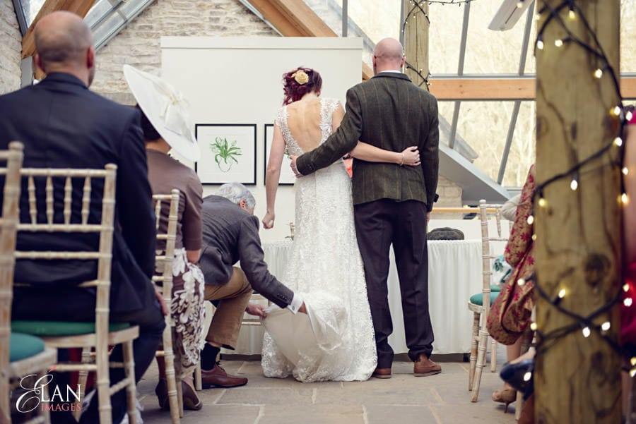 Vintage wedding at the Folly Farm Centre, Pensford 128