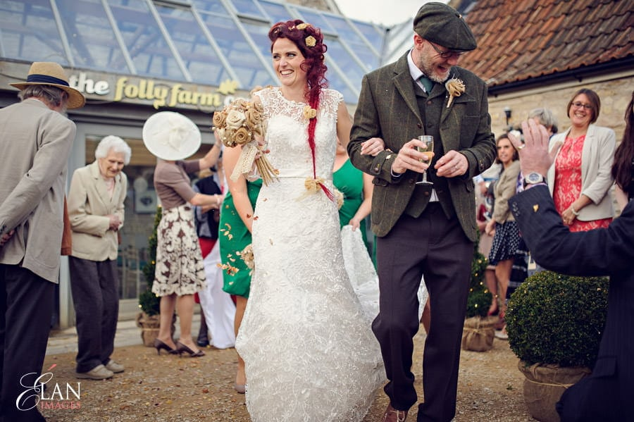 Vintage wedding at the Folly Farm Centre, Pensford 173