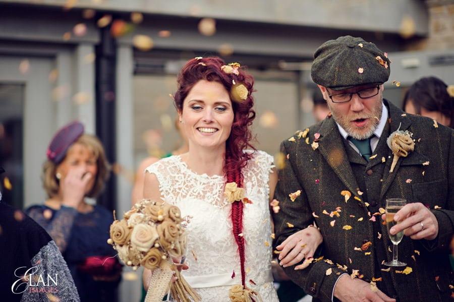 Vintage wedding at the Folly Farm Centre, Pensford 174