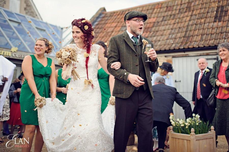 Vintage wedding at the Folly Farm Centre, Pensford 175