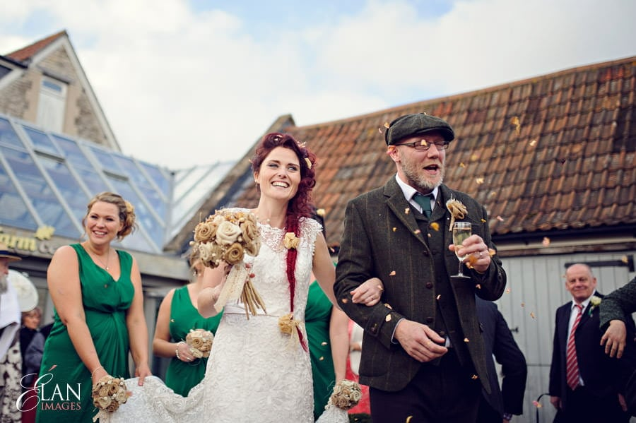 Vintage wedding at the Folly Farm Centre, Pensford 176