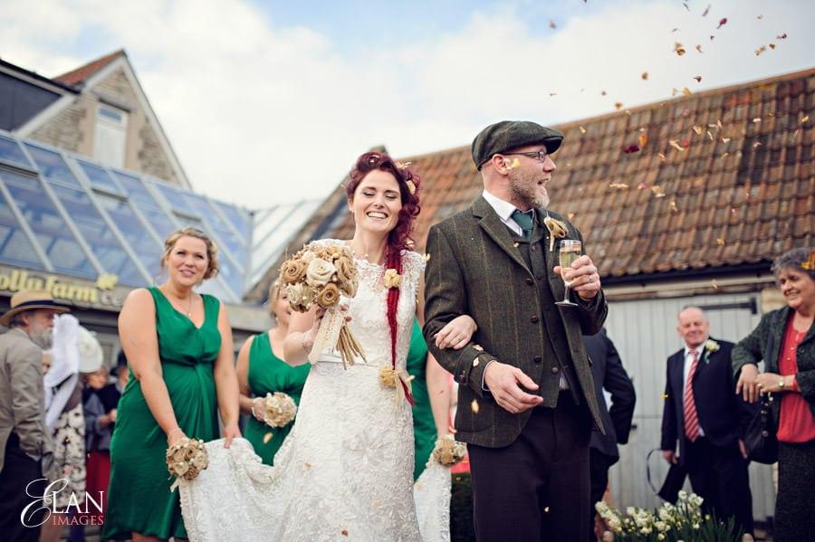 Vintage wedding at the Folly Farm Centre, Pensford 177