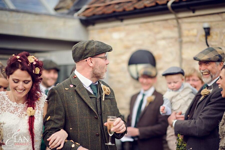 Vintage wedding at the Folly Farm Centre, Pensford 178