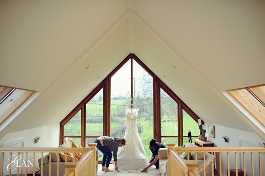 Vintage wedding at the Folly Farm Centre, Pensford 18