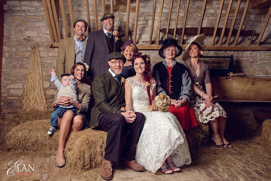 Vintage wedding at the Folly Farm Centre, Pensford 191