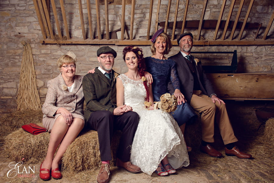 Vintage wedding at the Folly Farm Centre, Pensford 192