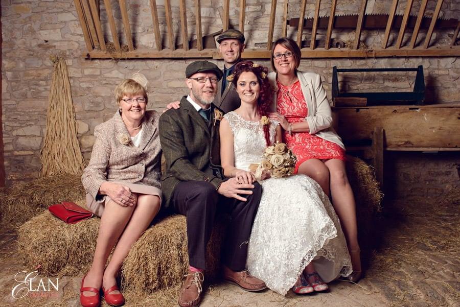 Vintage wedding at the Folly Farm Centre, Pensford 193