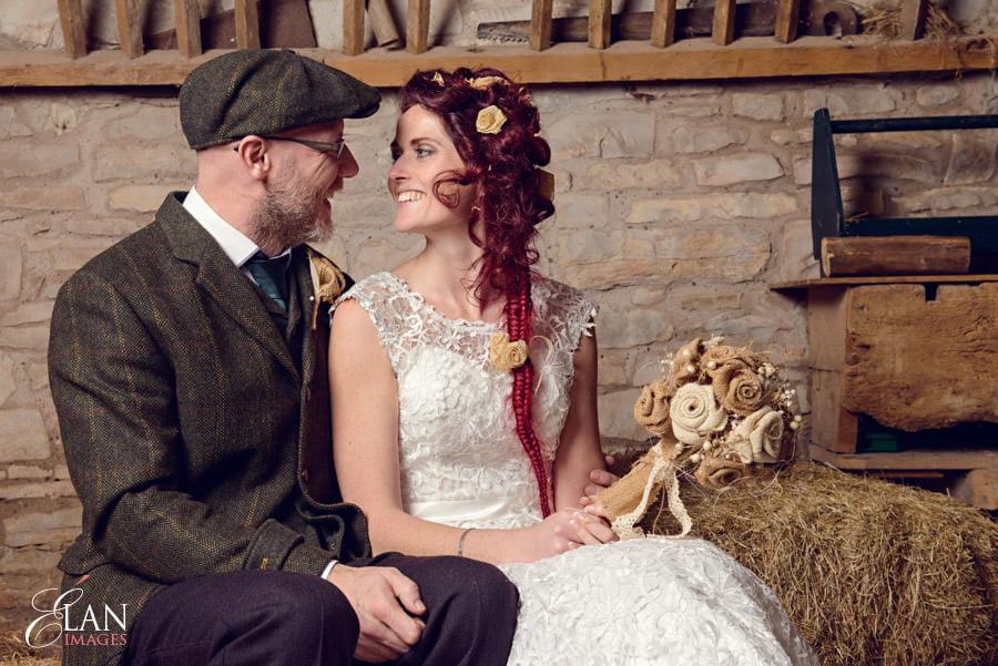 Vintage wedding at the Folly Farm Centre, Pensford 195