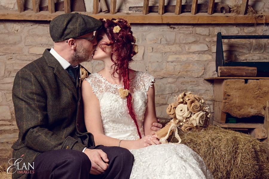 Vintage wedding at the Folly Farm Centre, Pensford 196
