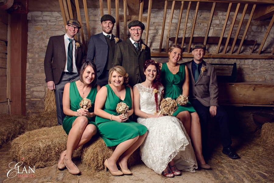 Vintage wedding at the Folly Farm Centre, Pensford 200