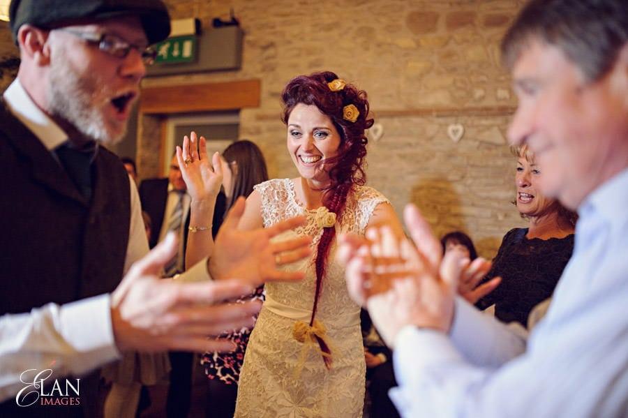 Vintage wedding at the Folly Farm Centre, Pensford 336