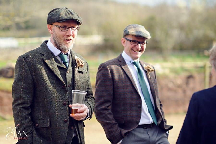 Vintage wedding at the Folly Farm Centre, Pensford 73