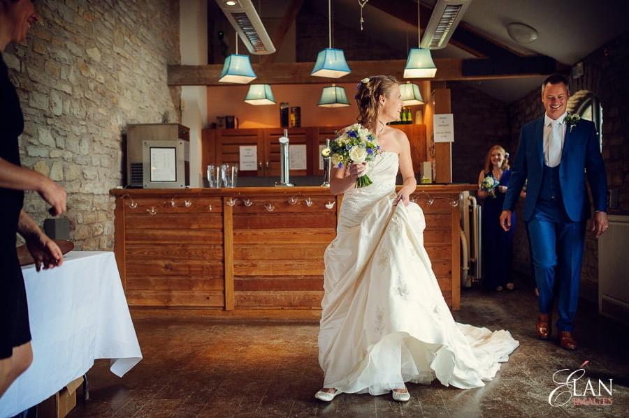 Woodland wedding at the Folly Farm Centre near Bristol 90