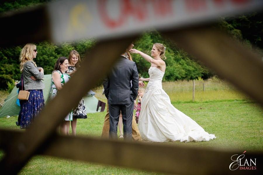 Woodland wedding at the Folly Farm Centre near Bristol 140