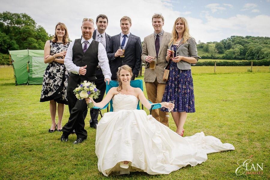 Woodland wedding at the Folly Farm Centre near Bristol 141