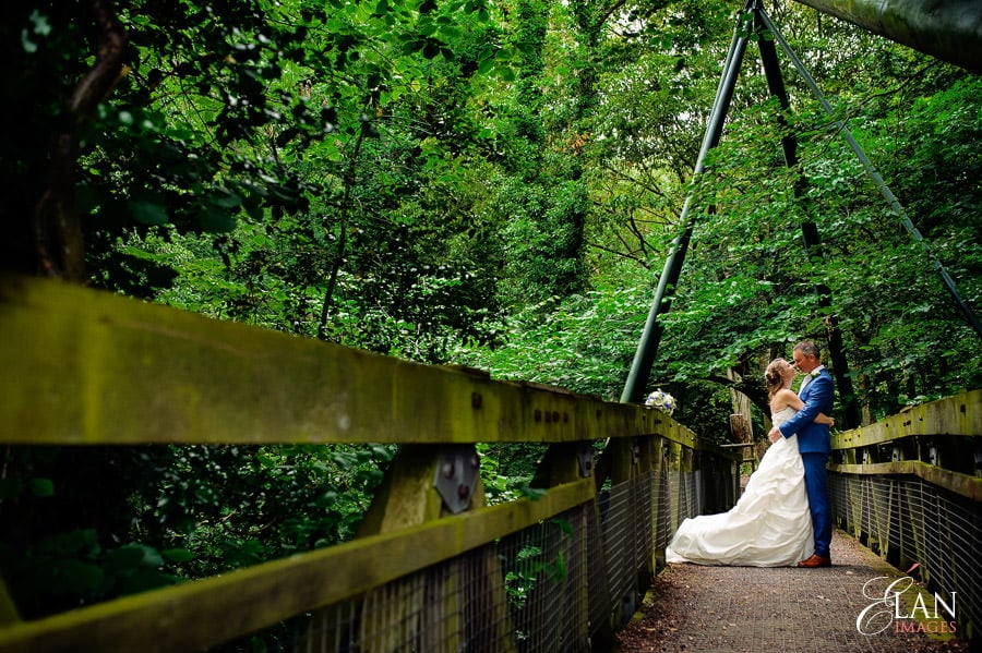 Woodland wedding at the Folly Farm Centre near Bristol 171