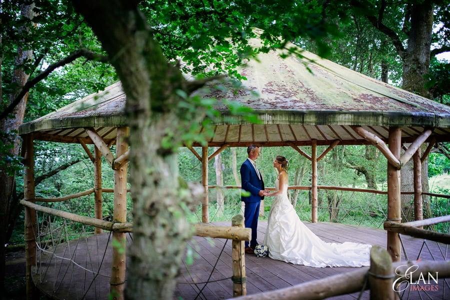 Woodland wedding at the Folly Farm Centre near Bristol 181
