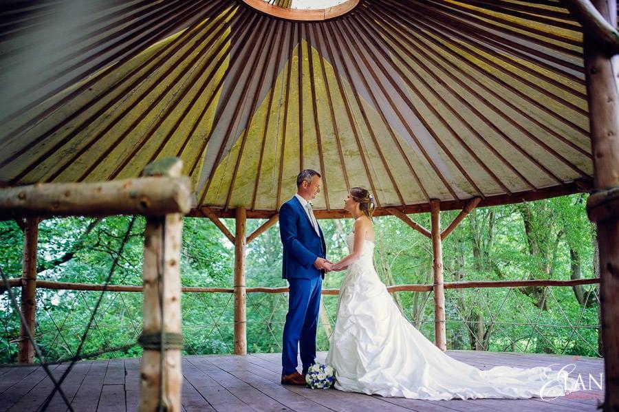 Woodland wedding at the Folly Farm Centre near Bristol 182