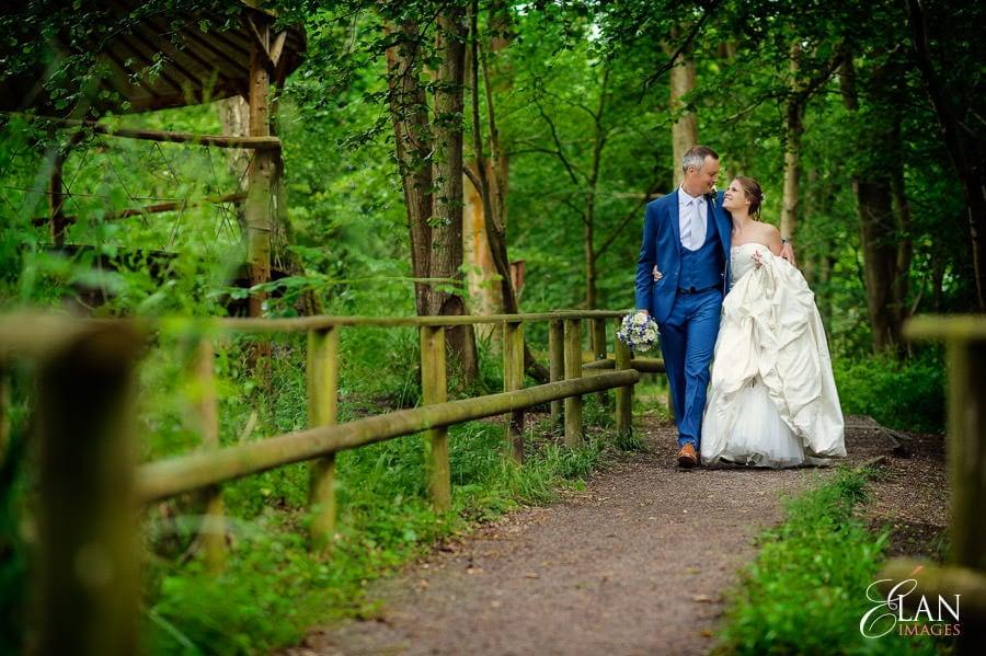Woodland wedding at the Folly Farm Centre near Bristol 190