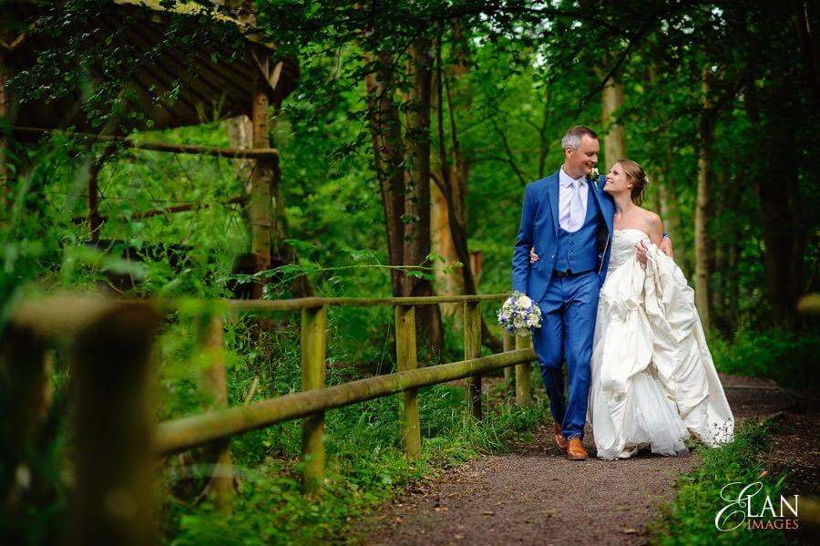 Woodland wedding at the Folly Farm Centre near Bristol 191