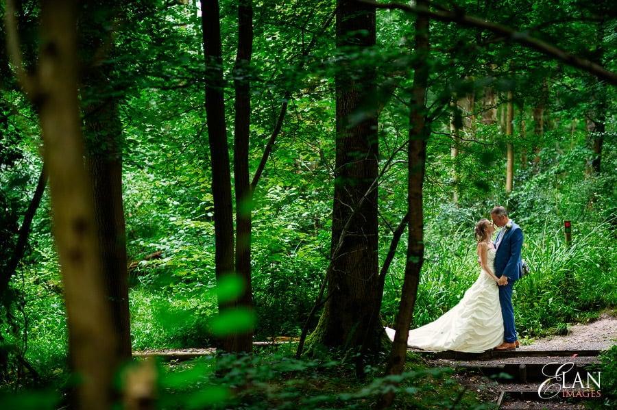 Woodland wedding at the Folly Farm Centre near Bristol 194