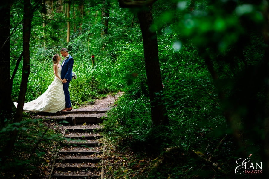 Woodland wedding at the Folly Farm Centre near Bristol 195