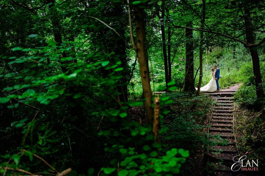 Woodland wedding at the Folly Farm Centre near Bristol 196