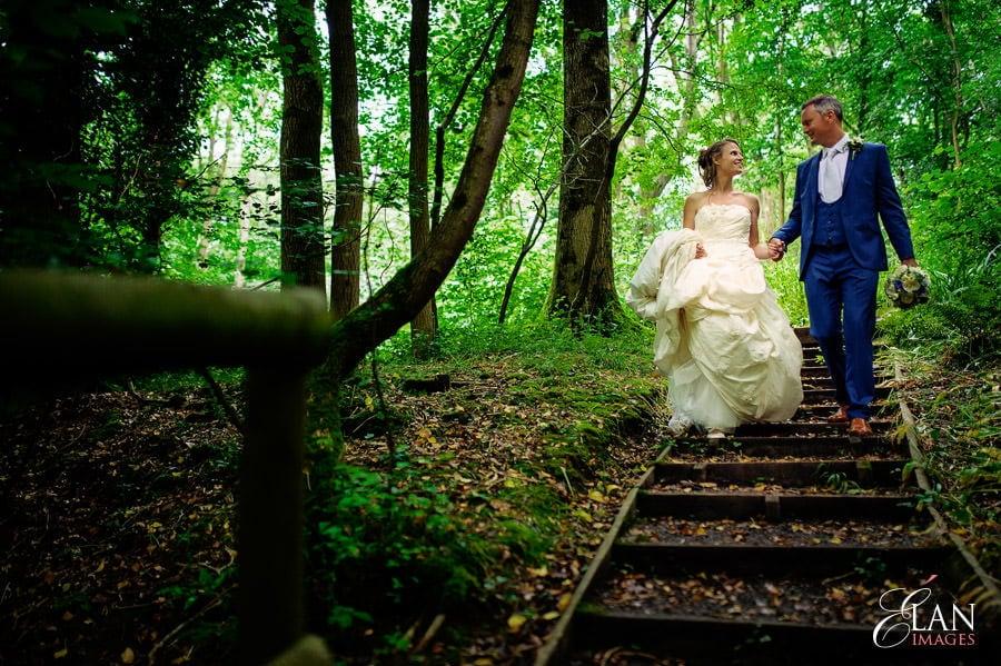 Woodland wedding at the Folly Farm Centre near Bristol 198