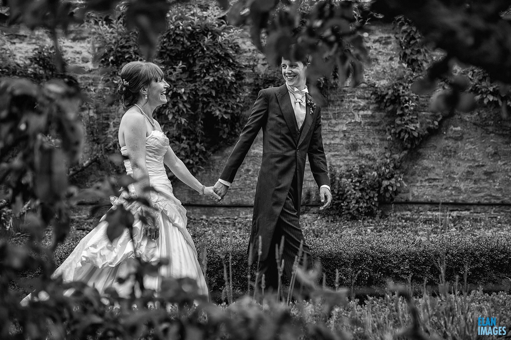 Coombe Lodge Wedding - Bride & Groom