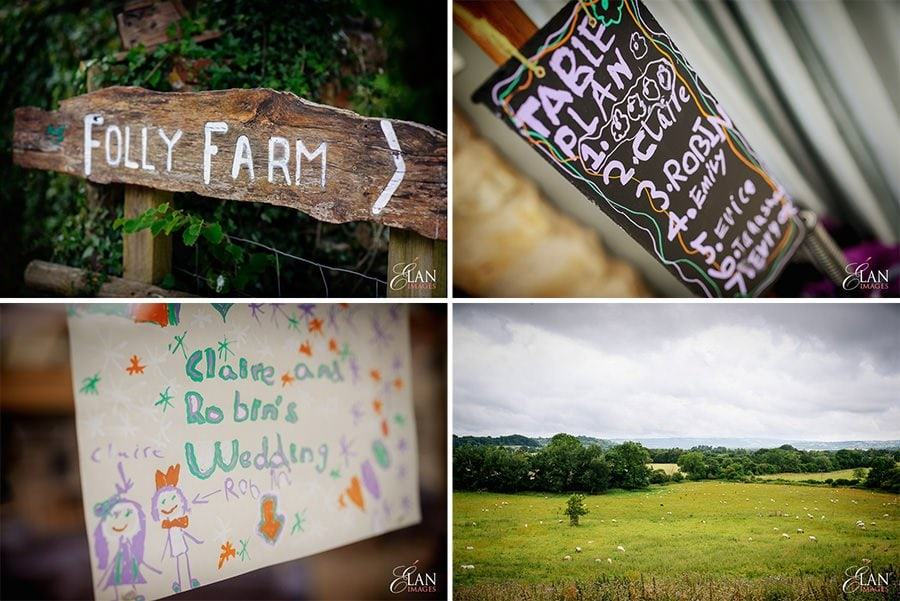 Folly Farm Centre Pensford Vintage Wedding 2