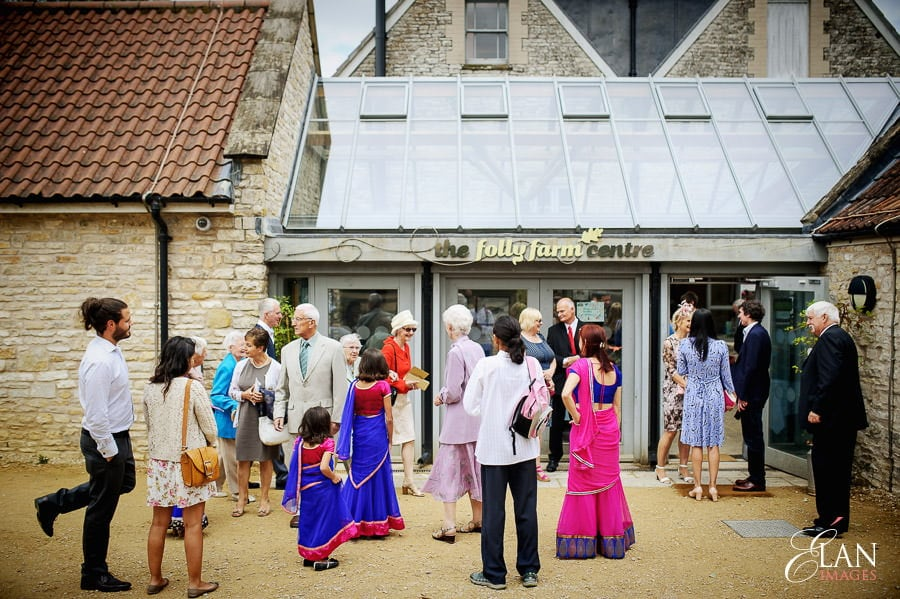 Folly Farm Centre Pensford Vintage Wedding 11