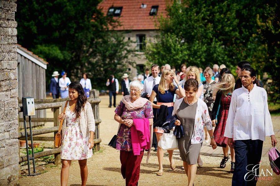 Folly Farm Centre Pensford Vintage Wedding 16